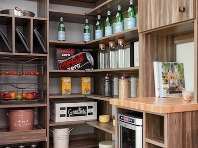 Custom Kitchen Pantries